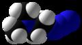 2-Dimethylaminoethylazide Space Fill.png