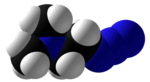 2-Dimethylaminoethylazide Space Fill.png