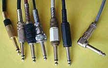 Phone connector (audio) - Wikipedia