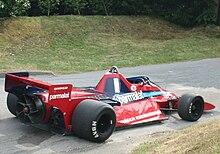 Une Brabham BT46B, elle est dotée d'un ventilateur à l'arrière simulant l'effet de sol.