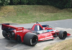 Brabham BT46 - Image: 2001 Goodwood Festival of Speed Brabham BT46B Fan car