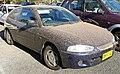 2003 Mitsubishi Mirage (CE2 MY02) 3-door hatchback (2009-09-25).jpg