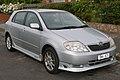 2003 Toyota Corolla (ZZE123R) Sportivo 5-door hatchback (2015-11-11) 01.jpg