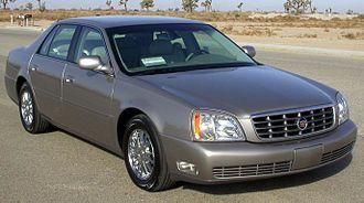 Cadillac de Ville series - Image: 2004 Cadillac Deville DHS NHTSA