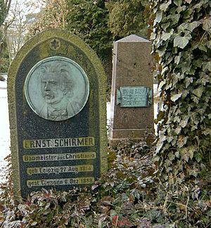 Heinrich Ernst Schirmer - Grave in Gießen, Germany