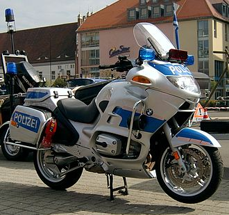 Federal Police (Germany) - BMW R 1150 RT motorcycle