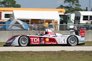 Le Mans Prototype - Audi R10 TDI in the 2008 12 Hours of Sebring, 2008