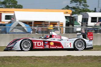 Le Mans Prototype - Audi R10 TDI in the 2008 12 Hours of Sebring, 2008