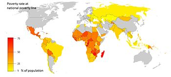Poverty In India Wikipedia - India poor country ranking