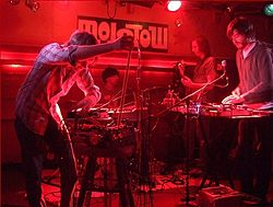 Holy Fuck im Molotow (Hamburg) am 14. April 2008