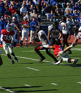 Michael Crabtree - Crabtree in action during the Texas Tech at Kansas game in 2008
