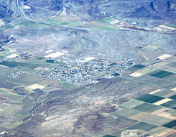 Aerial view of Loa