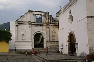 Peter of Saint Joseph de Betancur - Church of San Francisco in La Antigua Guatemala.