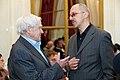 2010 Likhachev Foundation Prize ceremony - Daniil Granin and Rustam Rakhmatullin.jpg