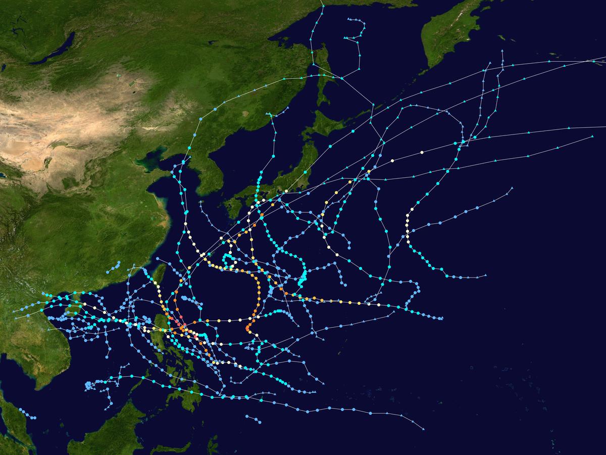 2019 Pacific typhoon season (Sassmaster/Layten ...