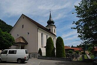 Eschenbach, St. Gallen - Church of St. Antonius von Padua in St. Gallenkappel