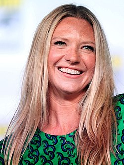 Anna Torv vid San Diego Comic-Con International 2012.