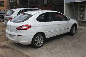 Chery A3 - Image: 2012 Chery J3 (M1X) hatchback (20096035238)