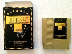 Classic Tetris World Championship - A special cartridge given to supporters of the event in 2013.