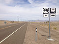 2014-07-28 11 26 31 View north along U.S. Route 95 at the junction with Nevada State Route 361 (Gabbs Valley Road) in Mineral County, Nevada.JPG