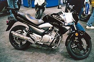 Suzuki GW250 - Image: 2014 Suzuki GW250