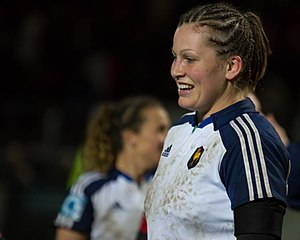 Manon André - Image: 2014 Women's Six Nations Championship France Italy (167)