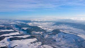 Wutöschingen - Aerial view of Wutöschingen