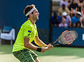 2015 US Open Tennis - Qualies - Guilherme Clezar (BRA) def. Nicolas Almagro (ESP) (12) (20941911869).jpg