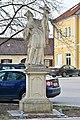 2016-02-27 GuentherZ (82) Zwentendorf Statue Johannes Nepomuk.JPG