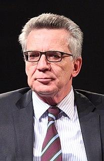 Thomas de Maizière German politician