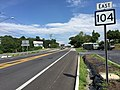2017-07-21 16 18 09 View east along West Virginia State Route 104 (Oakville Road) at West Virginia State Route 20 (Rogers Street) in Princeton, Mercer County, West Virginia.jpg