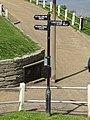 2018-05-03 Finger sign post, North Lodge Park, Cromer.JPG