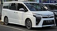 2018 Toyota Voxy 2.0 van (ZRR80R; 01-11-2019), South Tangerang.jpg