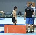 2019-06-26 1st FIG Artistic Gymnastics JWCH Men's Training 26 June Morning 2 Vault (Martin Rulsch) 18.jpg