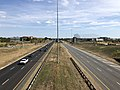 2019-09-27 14 49 13 View east along Virginia State Route 7 (Harry Byrd Highway) from the overpass for Virginia State Route 607 (Loudoun County Parkway) on the edge of University Center and Ashburn in Loudoun County, Virginia.jpg