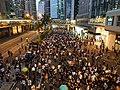 2019-10-04 Central Protest (Evening) on Connaught Road Central near Exchange Square.jpg