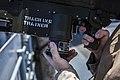 22nd MEU LAAD practices target tracking aboard USS Bataan 140508-M-HZ646-014.jpg
