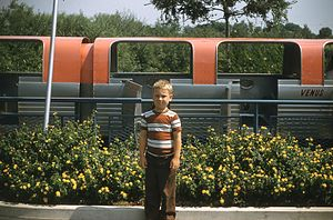 Viewliner Train of Tomorrow - Image: 23 Disneyland 022