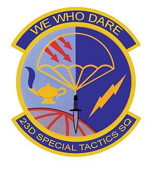 23rd Special Tactics Squadron - Image: 23rd STS