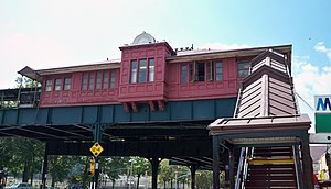 Van Cortlandt Park–242nd Street (IRT Broadway–Seventh Avenue Line) - Control house