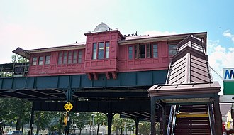National Register of Historic Places listings in the Bronx - Image: 242nd St by Matthew Bisanz