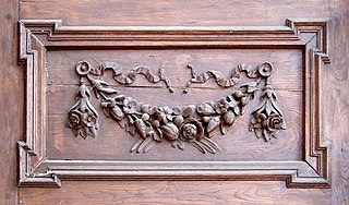 decoration used to embellish parts of a building or object