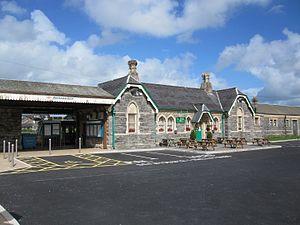 Pembroke and Tenby Railway - Pembroke Dock station in 2012)