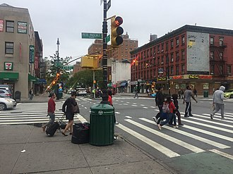 116th Street (Second Avenue Subway) - The corner of Second Avenue and 116th Street, where the future station will be located