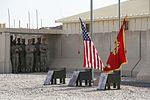 2nd Combat Engineer Battalion honors fallen Marines during memorial ceremony in Afghanistan 140708-M-KC435-001.jpg