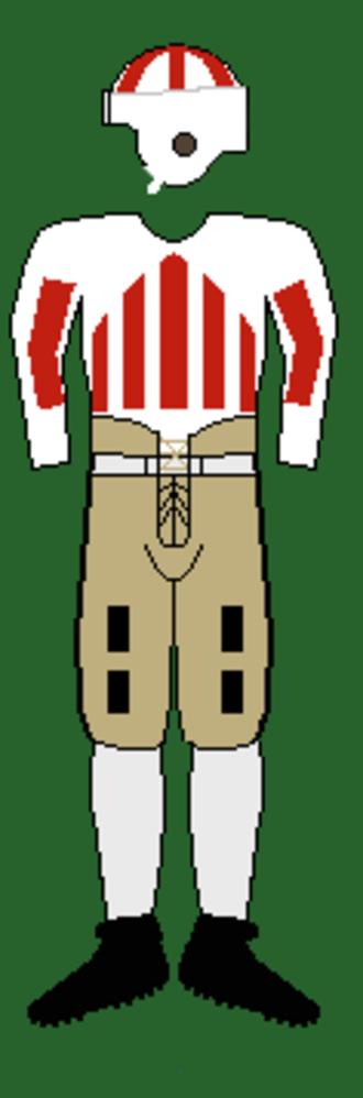 1930 Alabama Crimson Tide football team - Image: 30s Tideuniform
