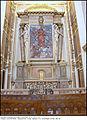 3935 Milano San Fedele 2a cappella a destra Sacro Cuore in ceramica di Lucio Fontana (1956) Foto Maurizio OM Ongaro 28-Giu-2014.jpg