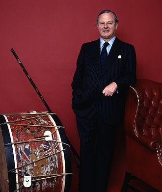 James Carnegie, 3rd Duke of Fife - Portrait by Allan Warren, 1985