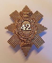42nd Regiment of Foot Cap Badge.jpg