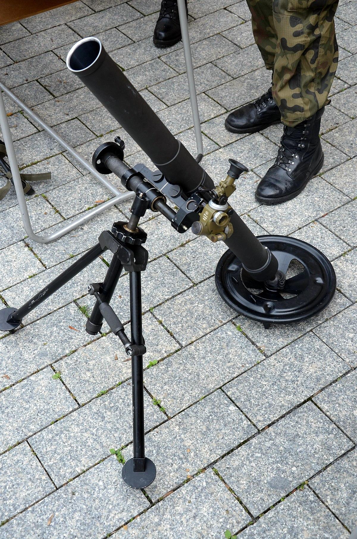 Mortar (weapon) - Wikipedia
